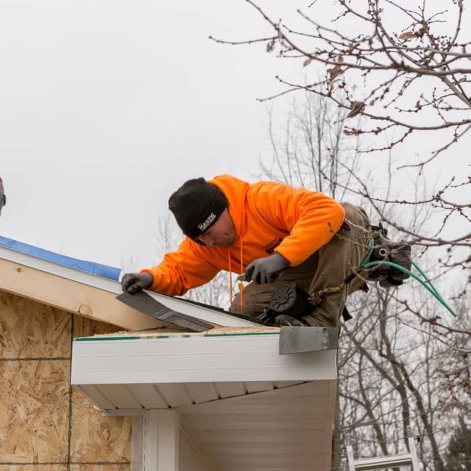 Storm Damaged Roof Repair Iowa City IA